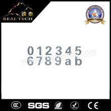 Stainless Steel Numberal Number Letter Sign Plate 1.5mm Thickness