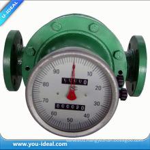 LC Digital Oval Gear Flow Meter Crude Oil Flow Meter