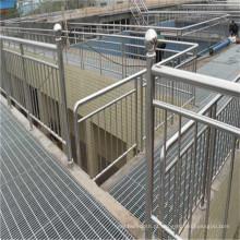 Grelha de piso de aço galvanizado para plataforma