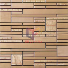 Rose Bronze Stainless Steel Metal Mosaic (CFM948)