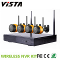 4CH Wireless-Sicherheit Kamera Kit 720p Ip Kamera 4ch NVR-Kit