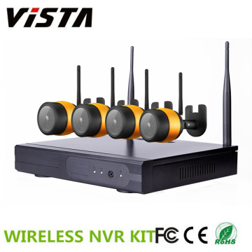 4ch Wifi CCTV 960p Waterproof IP Camera NVR Kit System
