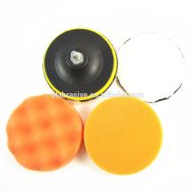 1x Esponja Cono de pulido de metal Almohadilla de espuma Lana Pulido Bola de pulido-Seleccionar color