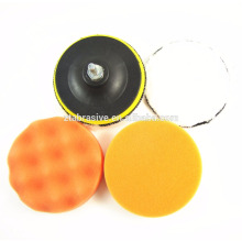 1x Sponge Cone Metal Polishing Foam Pad Wool Buffing Polishing Ball-Select Color