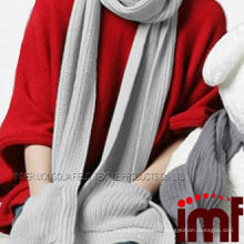 Knitting Casual Fashion New Style Long Grey Cashmere Scarf