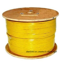 High Speed CAT6 Shielded STP Bulk Ethernet Cable 305m Yellow