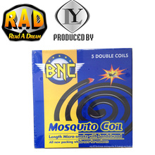 Bobine anti-moustique anti-moustique BNC Sandalwood Fragrance Black