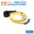 Única trança da fibra óptica do único modo LC / SC / ST / FC para o mercado de África