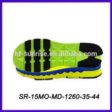 colorful sneakers eva shoe outsole
