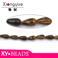 Popular Jewelry Coffee Waterdrop Faceted Beads Wholesale