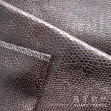 Tissu Polyester cuir maison bronzant
