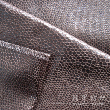 Bronzing Polyester Leather Home Textile Fabric
