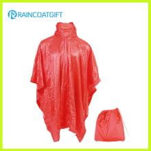 Poncho pliable imperméable de pluie d'EVA promotionnel (RVC-187)