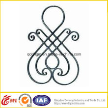Wrought Iron Rosette for Fence and Gate