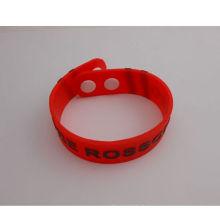 Dragonne douce de bracelet de silicium imperméable à l'eau (GZHY-SW-007)