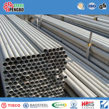 ASTM 304 316 Stainless Steel Pipe with ISO SGS