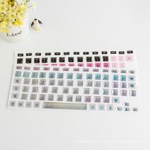 El diseño crea la etiqueta engomada hinchada decorativa del teclado, el teclado del ordenador portátil de la impresión de la impresión quita la etiqueta engomada