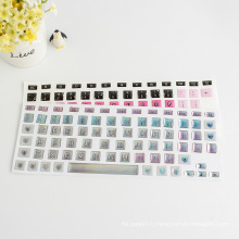 Custom Design Keyboard Decorative Puffy Sticker,Printable Printing Laptop Keyboard Skins Sticker