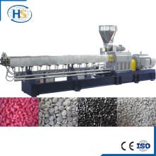 CaCO3 llenado masterbatch barril plástico doble tornillo extrusora