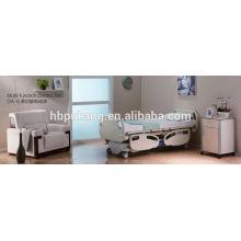 7-fach elektrisches Bett mit Dewart und T-Motion Motor mit Zentralverriegelung mit CE / FDA / ISO DA-6