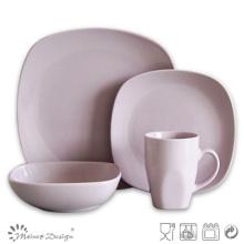 Hot Sale 16PCS Square Shape Stoneware Dinner Set