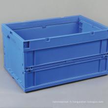 Récipient en plastique pliable / récipient en plastique de stockage de boîte pliable