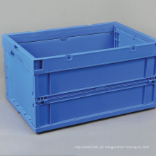 Recipiente de plástico dobrável / recipiente de armazenamento de caixa dobrável de plástico
