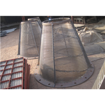 Cylindrical Baskets / Wedge Wire Mine Screen Basket