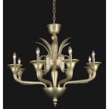 Golden pingente de vidro pingente para decoração (81102-8)