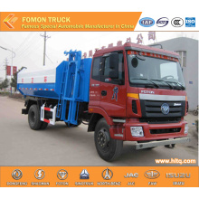 FOTON Euro 4 Hydraulic Lifting شاحنة القمامة
