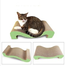 Good Quality for M Shape Cat Scratching Board M shaped cat scratcher toy supply to Canada Manufacturers