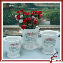 decal flower pot