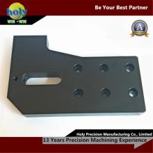 Торцевая пластина пользовательские CNC обслуживания CNC алюминия подвергая механической обработке электрической случай
