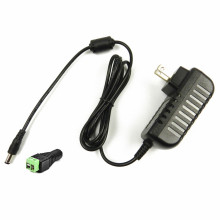 Adaptador de áudio para iluminação de energia AC DC 12V1A UL