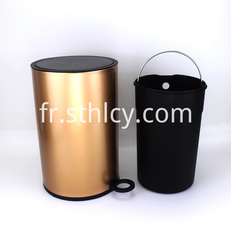 410 Stainless Steel Waste Bin