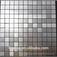 hangzhou aluminum metal mosaic sheet cheap mosaic