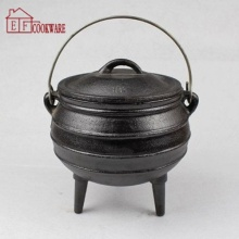 3 Kaki Besi Cor Enamel South Africa Pot / Potjie