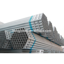 ERW redondo tubo de acero galvanizado / tubo