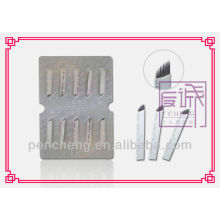 Disposable Permanent Makeup Needle MUN-6# 11pin/pc