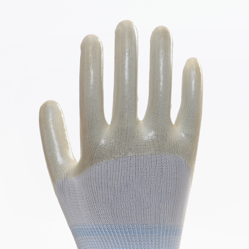 Polyester Shell PVC Work Gloves