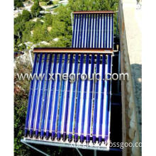 New high pressurized solar collector