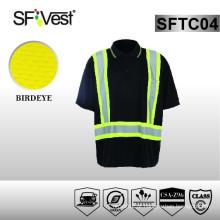 CSA Z96-09 uniformes padrão vestuário de trabalho camisas de alta visibilidade por atacado para homem