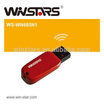 150MBps Wireless-n usb 2.0 Adaptador LAN (1T1R), 802.11N usb 2.0 WLAN card