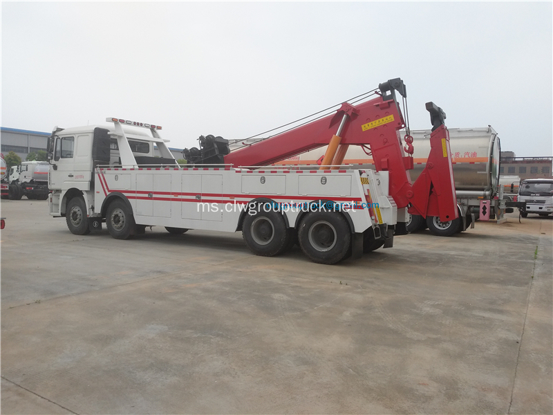 18-20 tan towing unit wrecker hanging truck
