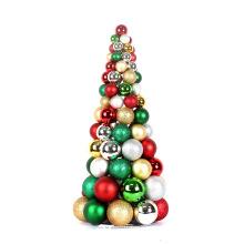 "Make 24"" Decorative Christmas Ball Tree"