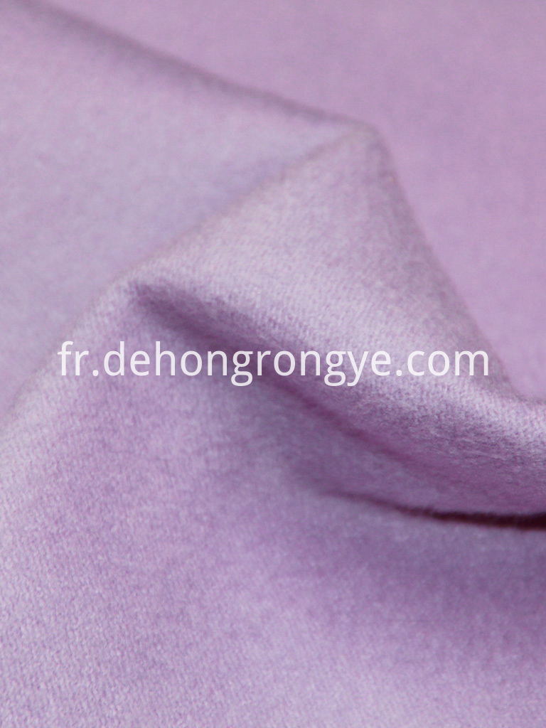 Woolen Cashmere Double Face Fabric 1