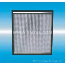 H13 Filtro HEPA H14 separador caja tipo