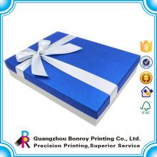 Cajas de cartón hecho a mano por encargo del regalo de las cajas de cartón del regalo