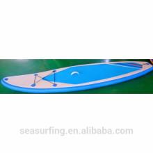 2016 cor clara personalizado OEM placa de pá inflável inexpensible