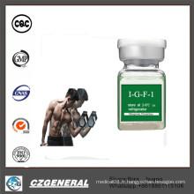 Poudre blanche d'hormone de pureté d'approvisionnement de l'usine 99% IG F-1
